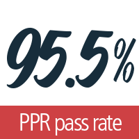 Texas Teachers that take our online certification program have a PPR pass rate of 95.5%