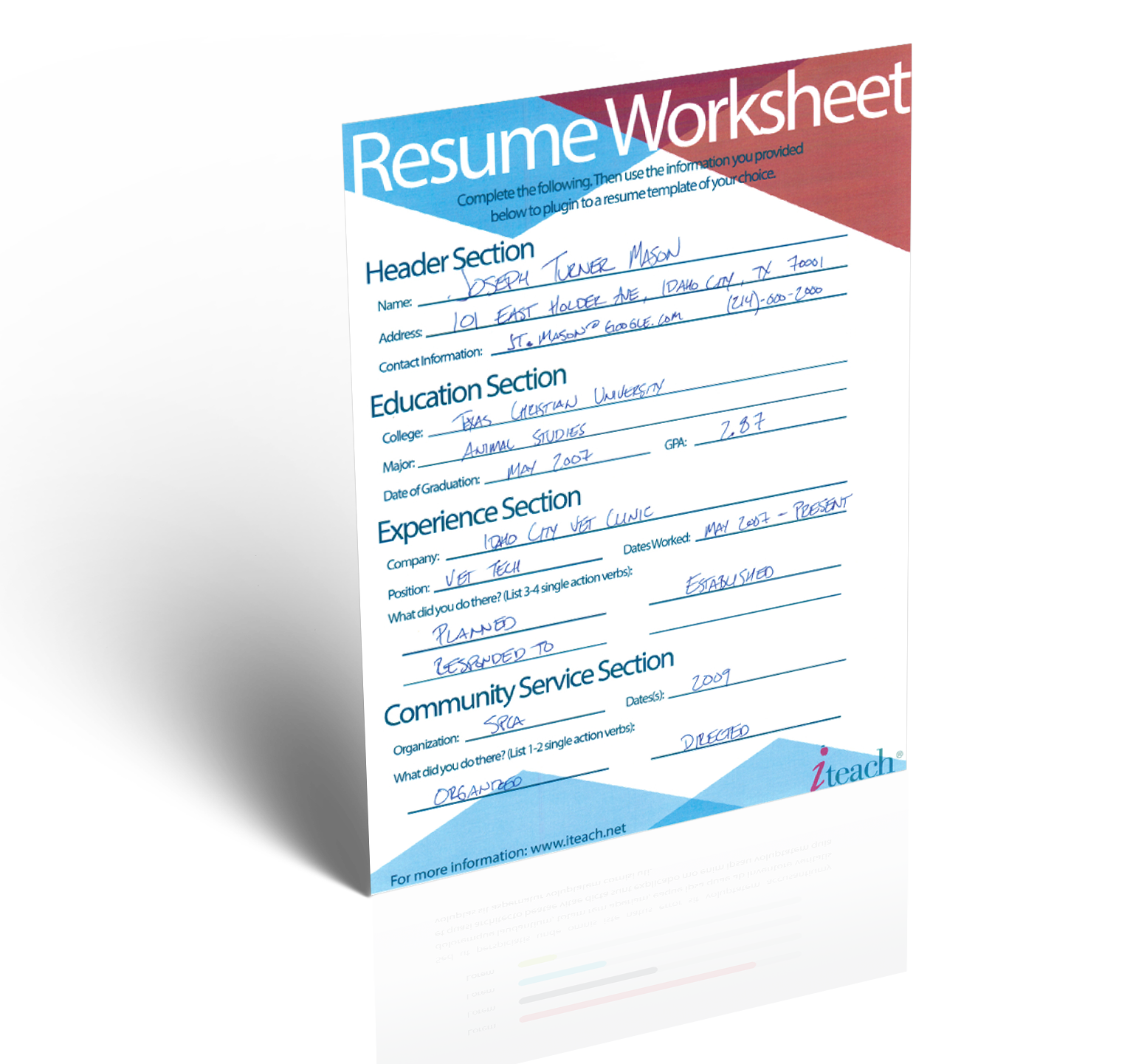 Employability Skills Worksheets Word Teacher Resume   Minute Guide To Writing The Perfect Resume Slope Problems Worksheet Excel with Chapter 3 Cell Structure And Function Worksheet Answers Word Download This Worksheet Reading Scales Worksheet Ks1 Pdf