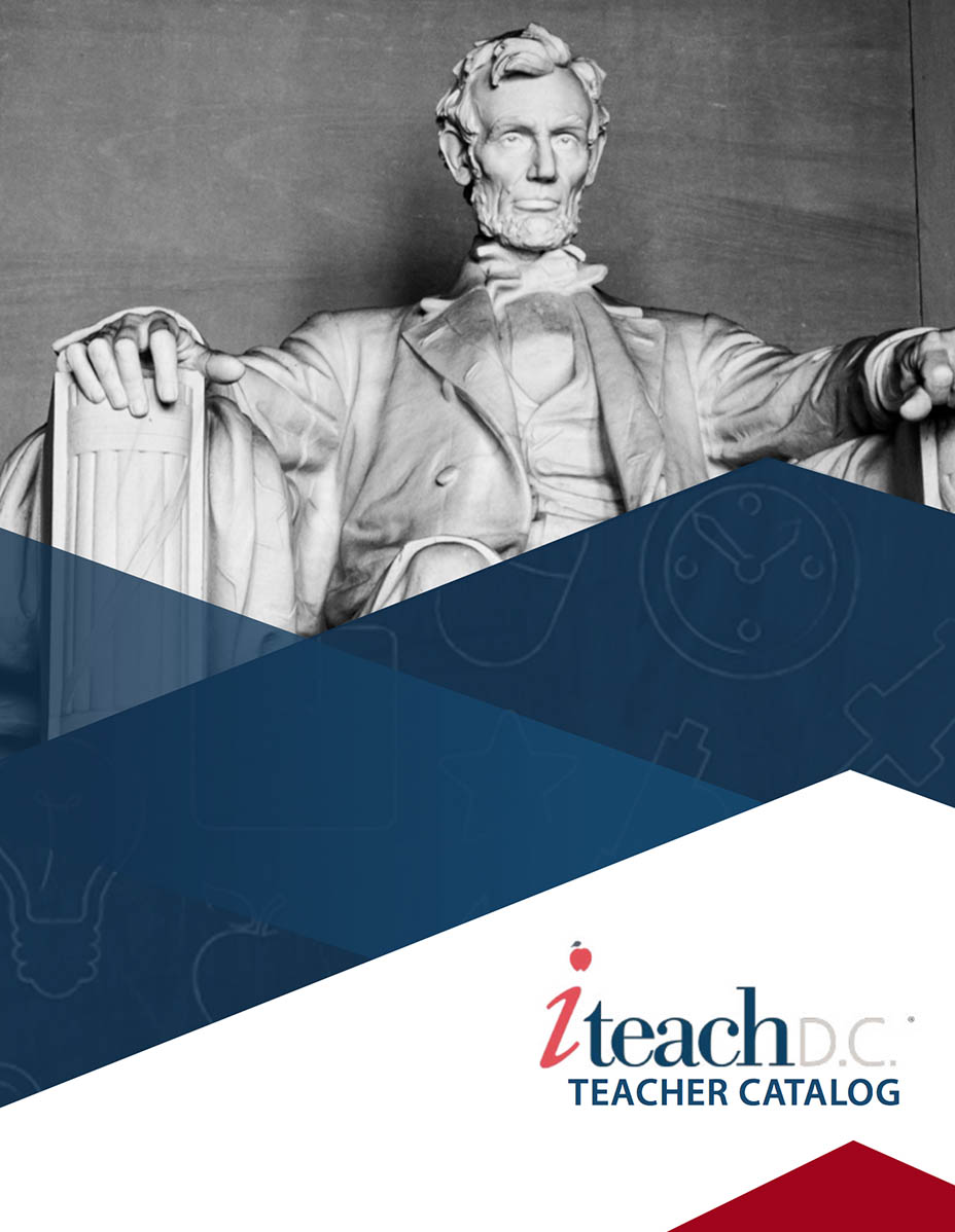 iteach dc online teacher certification catalog cover