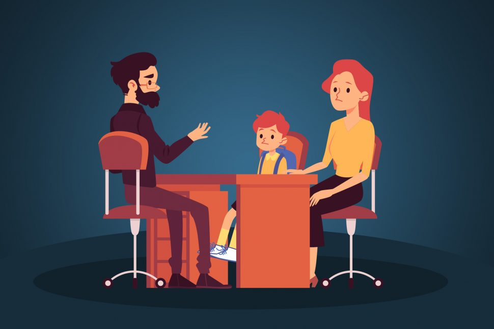 Dealing with difficult parents in the classroom